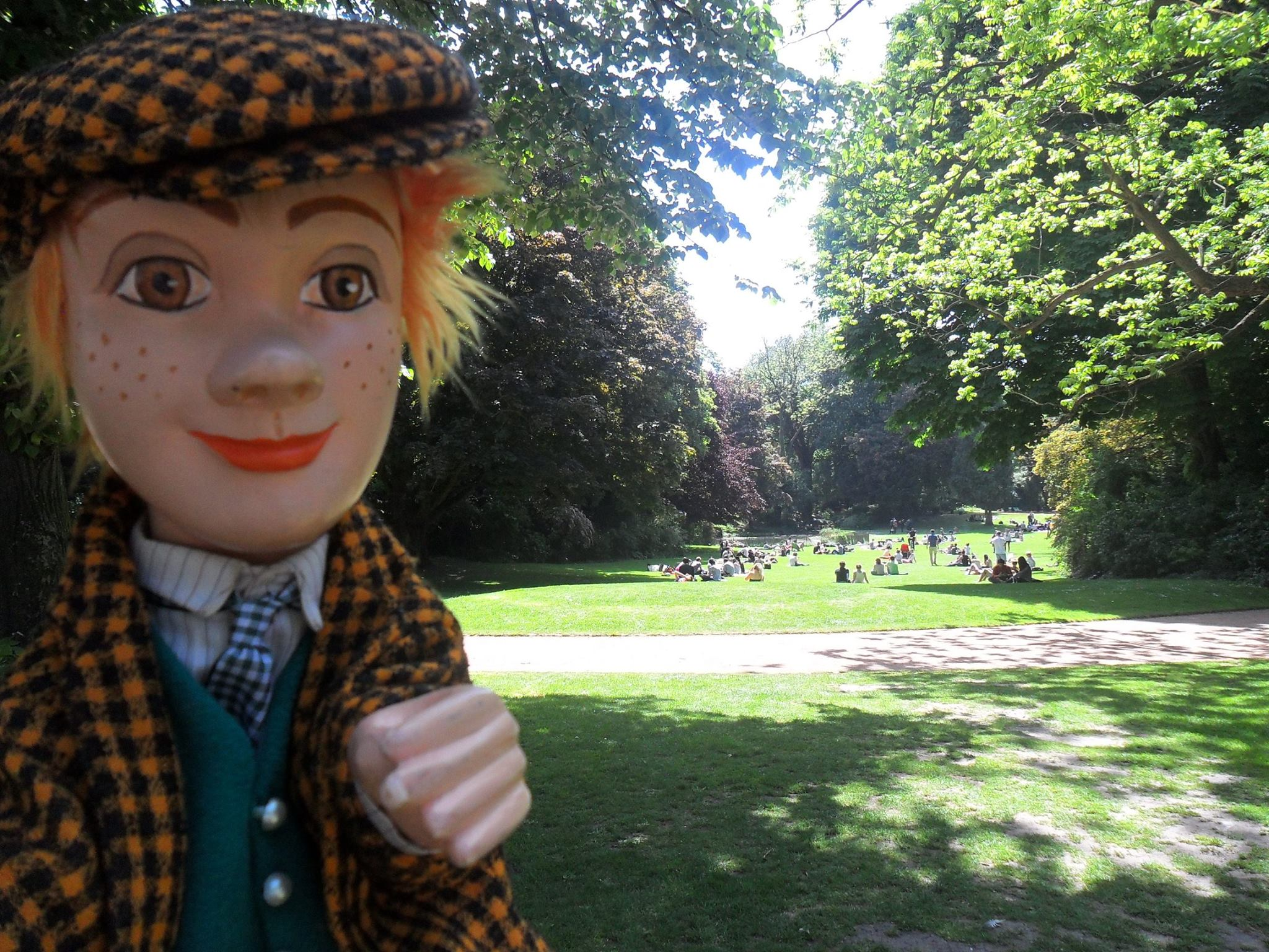 Le jardin vauban de lille parc de l 39 imp ratrice eug nie for Jardin vauban lille