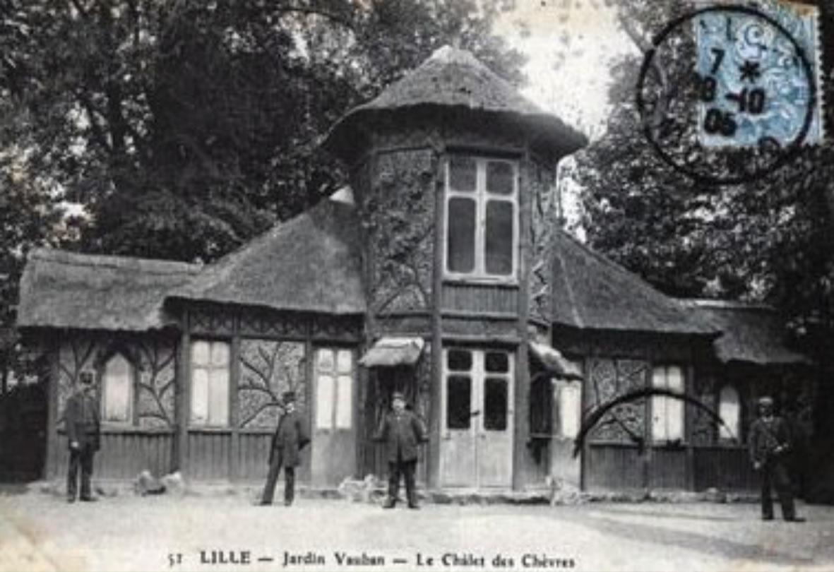 Jardin Vauban, le chalet des chèvres - Lille