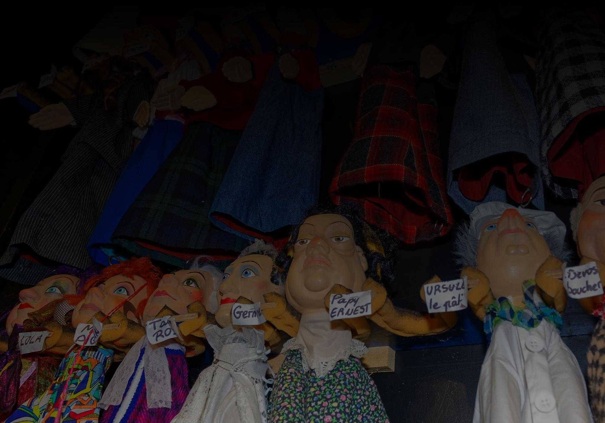 Marionnettes Le P'tit Jacques