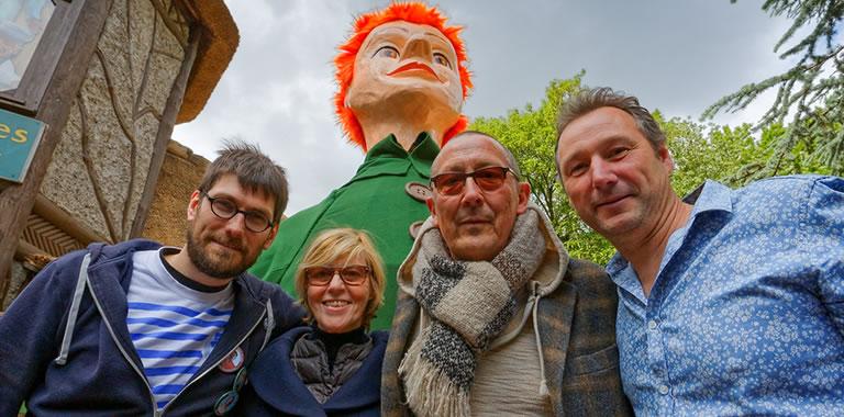 Arnaud Delbarre, Chantal Ladessou, Frantz Marin