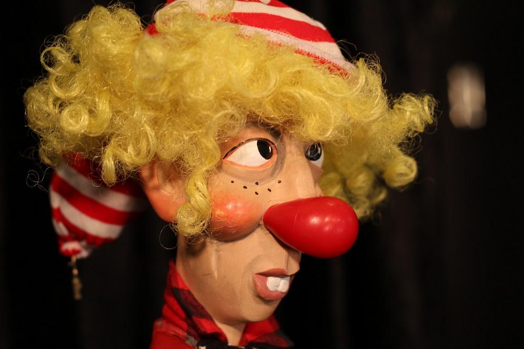 affiche de boudu et le nez de clown